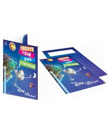 Young Angels Create Your Own Story Book Pack - The Aliens Fall Down!