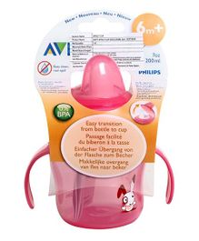 Avent Sipper with Handle 200 ml Pink