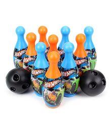 Funfactory Hotwheels Bowling Set - 10 Bottles