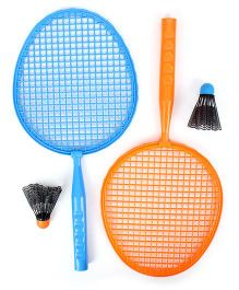 Funfactory Hotwheels Badminton Set - Blue and Orange