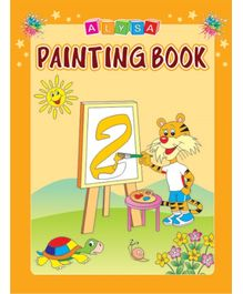 Indian Book Depot map house Alysa Painting Book 2 - English
