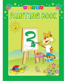 Indian Book Depot map house Alysa Painting Book 3 - English