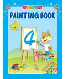 Indian Book Depot map house Alysa Painting Book 4 - English