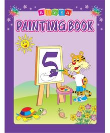 Indian Book Depot map house Alysa Painting Book 5 - English