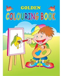 Indian Book Depot map house Golden Coloring Book 1 - English
