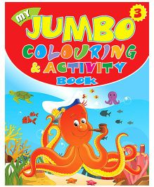 Indian Book Depot map house My Jumbo Coloring And Activity Book Part 3 - English
