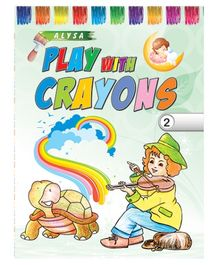 Indian Book Depot map house Play With Crayons Part 2 - English
