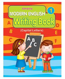 Indian Book Depot map house Amaira Modern Writing Book Part 1 - English