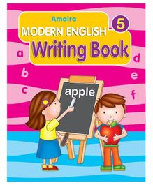 Indian Book Depot map house Amaira Modern Writing Book Part 5 - English