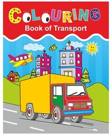 Indian Book Depot map house Coloring Book Of Transport - English