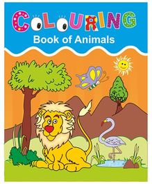 Indian Book Depot map house Coloring Book Of Animals - English