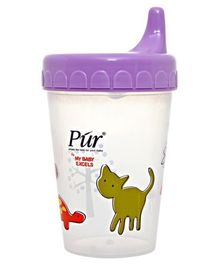 Pur - Non-Spill Printed Cup with Lid