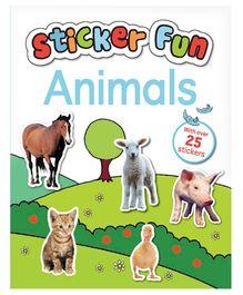 Parragon Book Sticker Fun Animals - English