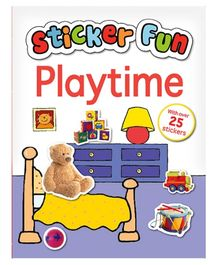 Parragon Book Sticker Fun Playtime - English