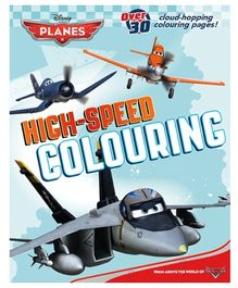 Parragon Disney Planes High Speed Coloring Book
