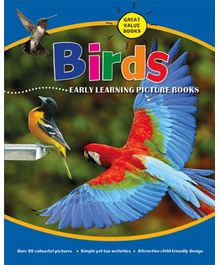Parragon Birds Early Learning Picture Book - English