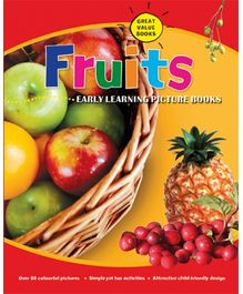 Parragon Fruits Early Learning Picture Book - English