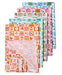 Tinycare Plastic Diaper Changing Sheets Large - Set Of 5
