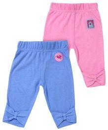 FS Mini Klub Pants Blue And Pink - Set of 2