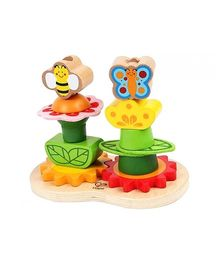 Hape Garden Stacker Wooden Toy