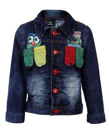 Noddy Original Clothing Denim Jacket - Patch Work