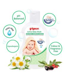 Pigeon Active Baby Wash - 200 ml