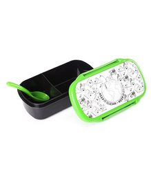 Snoopy Lunch Box - Green And Black