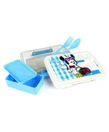 Minnie Mouse Lunch Box - Blue And White