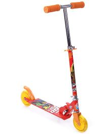 Hotwheels Two Wheel Scooter - Red