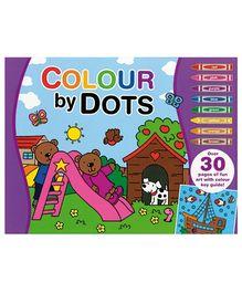 Alligator Books Colour by Dots - Purple