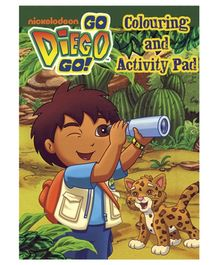 Alligator Books Go Diego Go Colouring and Activity Pad