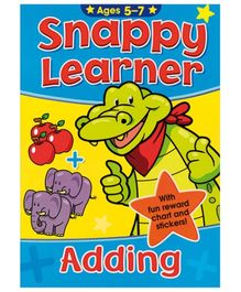 Alligator Books Snappy Learner Adding - English