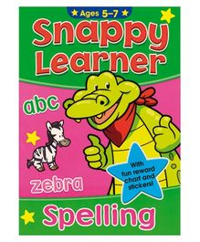 Alligator Books Snappy Learner Spelling - English