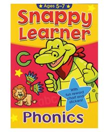 Alligator Books Snappy Learner Phonics - English