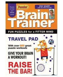 Alligator Books Brain Trainer Travel Pad Raise The Bar - English