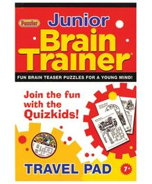 Alligator Books Brain Trainer Series Junior Travel Pad 7+