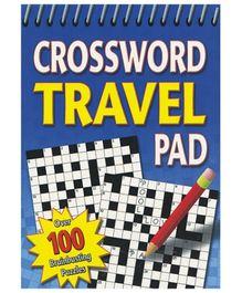 Alligator Books Crossword Travel Pad - English