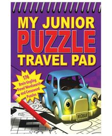 Alligator Books My Junior Puzzle Travel Pad - English