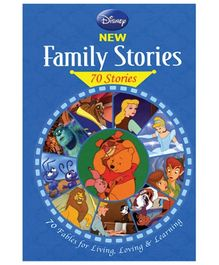 Euro Books Disney New Family Stories - English