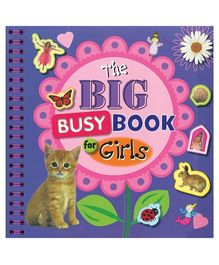 Make Believe Ideas Ltd Sticker Book - The Big Busy Book For Girls