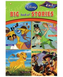 Shree Book Centre Disney Big Book of Stories 4 In 1 - English