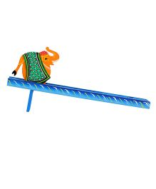 Desi Toys Wooden Rapataa Haati - Multicolour