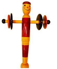 Desi Toys Wooden Munna Jhun Jhuna