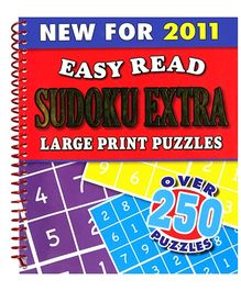Igloo Books Easy Read Sudoku Extra Large Print Puzzles