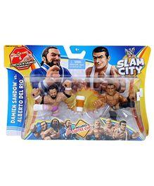 WWE Slam City Figure - Damien Sandow Vs. Alberto Del Rio