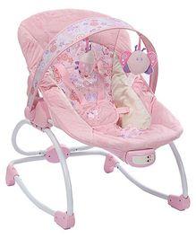 Mastela Musical Baby Rocker - Pink