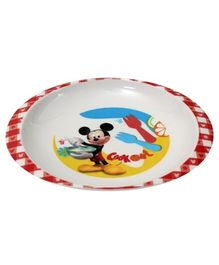 Mickey Mouse And Friends Soup Plate