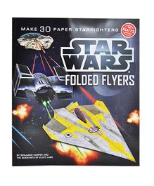 Scholastic Book Star Wars Folded Flyers - English