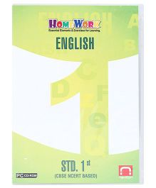 Homework CD-ROM English Std. 1st - CBSE NCERT Based