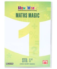 Homework CD-ROM Maths Magic Std. 1st - CBSE NCERT Based